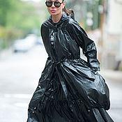 Одежда handmade. Livemaster - original item Suit, skirt with loose cloak and hood - SE0301PL. Handmade.