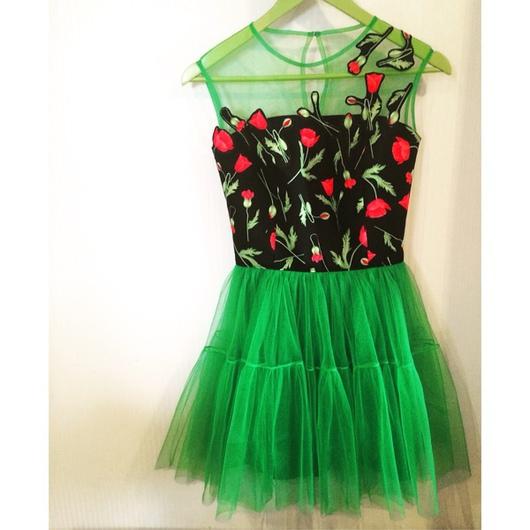Платья ручной работы. Ярмарка Мастеров - ручная работа. Купить Платье с маками. Handmade. Платье, Платье нарядное, платье вечернее