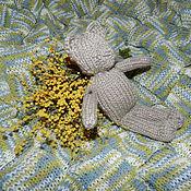 Работы для детей, ручной работы. Ярмарка Мастеров - ручная работа Плед детский и Просто Мишка. Handmade.