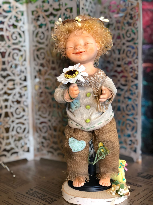 Куколка- статуэтка, интерьерная, Сувениры, Москва,  Фото №1