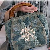 Сумки и аксессуары handmade. Livemaster - original item Japanese handbag Hydrangea. Handmade.