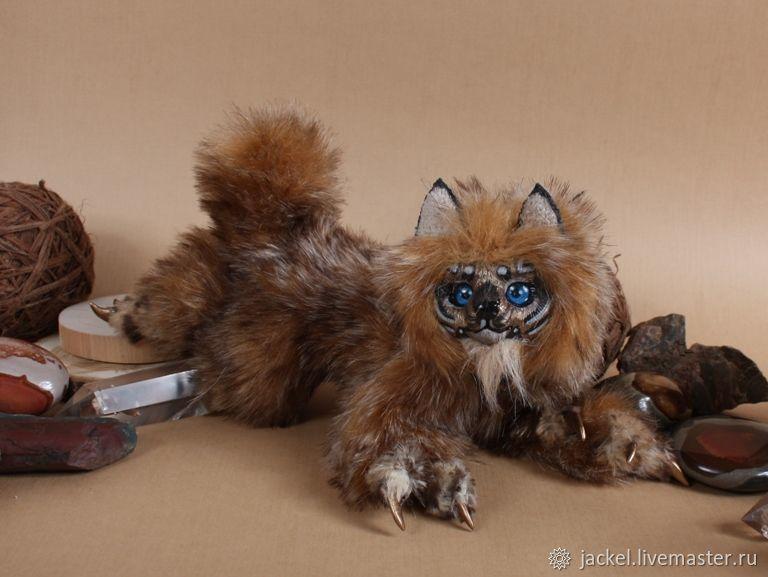ИЩЕТ ДОМ! Нган ронг, рысевидный кот Ваур, Мягкие игрушки, Москва,  Фото №1