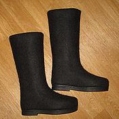 """Обувь ручной работы. Ярмарка Мастеров - ручная работа Валяные сапоги """"Ночь"""". Handmade."""