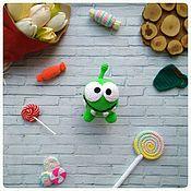 Куклы и игрушки ручной работы. Ярмарка Мастеров - ручная работа Ам-Ням вязаная крючком игрушка в технике амигуруми. Handmade.