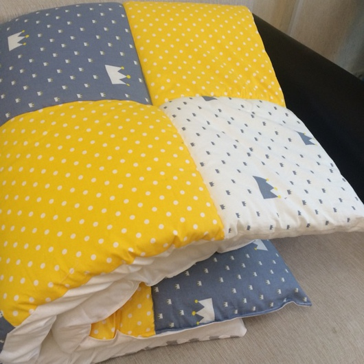 Пледы и одеяла ручной работы. Ярмарка Мастеров - ручная работа. Купить Одеяло коврик в вигвам или детскую комнату. Handmade.