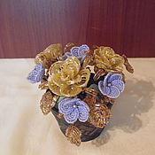 Цветы и флористика ручной работы. Ярмарка Мастеров - ручная работа Розы 2. Handmade.