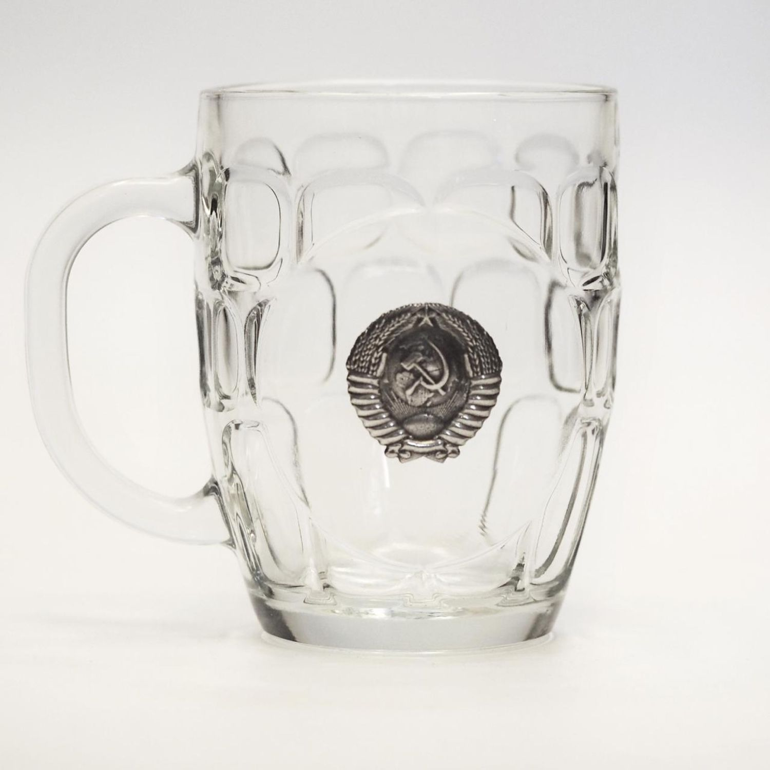 Beer mug ' coat Of arms of the Soviet Union». Big beer mug, Gifts for February 23, Zhukovsky,  Фото №1