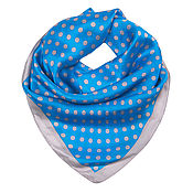 Материалы для творчества handmade. Livemaster - original item Handkerchief 100% silk. 90 by 90 cm.