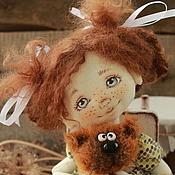 Куклы и игрушки ручной работы. Ярмарка Мастеров - ручная работа Маруся и Мурзик. Handmade.