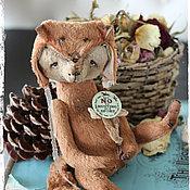 Куклы и игрушки ручной работы. Ярмарка Мастеров - ручная работа Ричи против охоты на лис. Handmade.