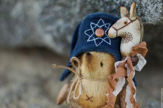 Мишки Тедди ручной работы. Ярмарка Мастеров - ручная работа. Купить мой Наполеон. Handmade. Бежевый, мохер, синтепух гипоаллергенный