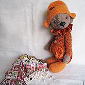 Куклы и игрушки ручной работы. Ярмарка Мастеров - ручная работа Мишка Арлекин. Handmade.