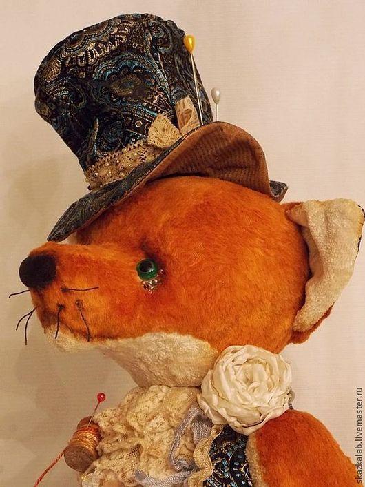Мишки Тедди ручной работы. Ярмарка Мастеров - ручная работа. Купить Безумный шляпник. Handmade. Рыжий, плюш винтажный