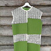 Одежда handmade. Livemaster - original item Felted vest. Handmade.