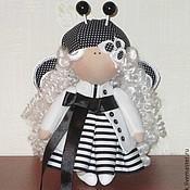 Куклы и игрушки ручной работы. Ярмарка Мастеров - ручная работа Бабочка монохром. Handmade.