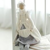 Куклы и игрушки ручной работы. Ярмарка Мастеров - ручная работа Ангел на коньках (тильда). Handmade.
