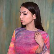 Одежда ручной работы. Ярмарка Мастеров - ручная работа Валяное платье Притяжение. Handmade.