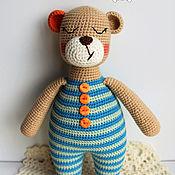"""Куклы и игрушки ручной работы. Ярмарка Мастеров - ручная работа Мишка """"Сплюшка"""".. Handmade."""