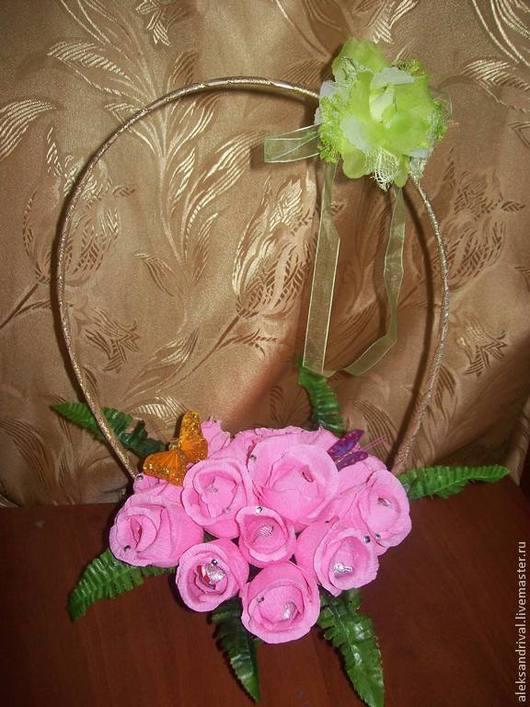 Персональные подарки ручной работы. Ярмарка Мастеров - ручная работа. Купить Розовый сон. Handmade. Розовый, тесьма декоративная, бабочки