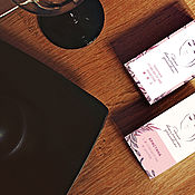 Визитки ручной работы. Ярмарка Мастеров - ручная работа Визитки: Дизайн визитки. Handmade.