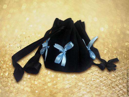 Женские сумки ручной работы. Ярмарка Мастеров - ручная работа. Купить Круглая сумочка с лентами (черная). Handmade. Театральная сумочка