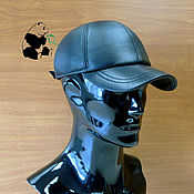 Аксессуары handmade. Livemaster - original item Leather men`s soft cap. Baseball cap genuine leather.. Handmade.
