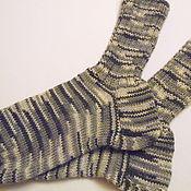 Аксессуары ручной работы. Ярмарка Мастеров - ручная работа носки мужские. Handmade.