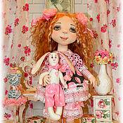 Куклы и игрушки ручной работы. Ярмарка Мастеров - ручная работа авторская кукла МИЛОЧКА. Handmade.