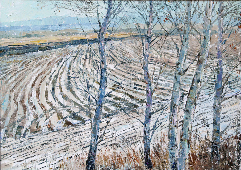 Oil painting Autumn rhythms, Pictures, Magnitogorsk,  Фото №1