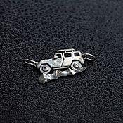 Украшения handmade. Livemaster - original item Jeep Off-road, silver lace bracelet. Handmade.