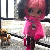 """Куклы и игрушки ручной работы. Ярмарка Мастеров - ручная работа """"Яркая Зима"""" комплект для куклы. Handmade."""