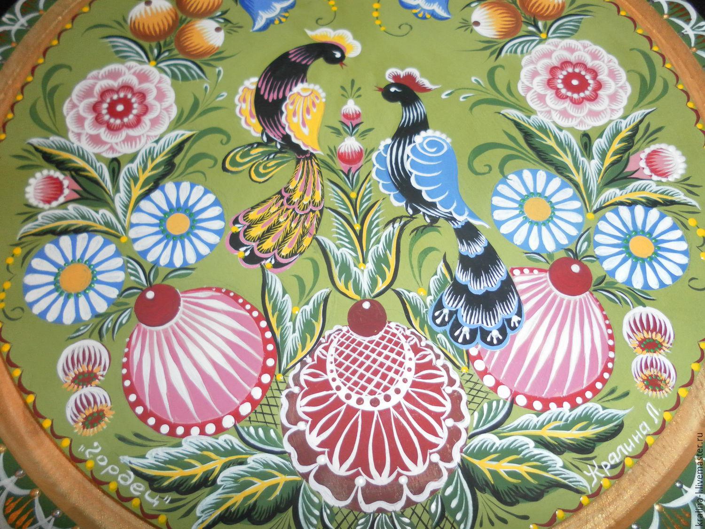 Нижегородская роспись по дереву