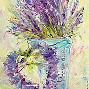 handmade. Livemaster - original item Oil painting on canvas. The Heart Of Provence. Handmade.