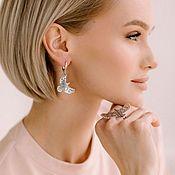 Украшения handmade. Livemaster - original item Bereginya Earrings silver 925. Handmade.