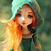 Куклы и игрушки ручной работы. Ярмарка Мастеров - ручная работа Рыжий Эльф. Handmade.