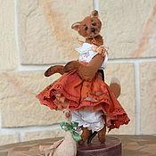 Куклы и игрушки handmade. Livemaster - original item Fox Patricia. Handmade.