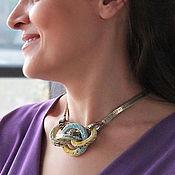 Украшения handmade. Livemaster - original item Necklace for neck ceramic