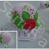 Работы для детей, ручной работы. Ярмарка Мастеров - ручная работа детские летние  шляпки. Handmade.