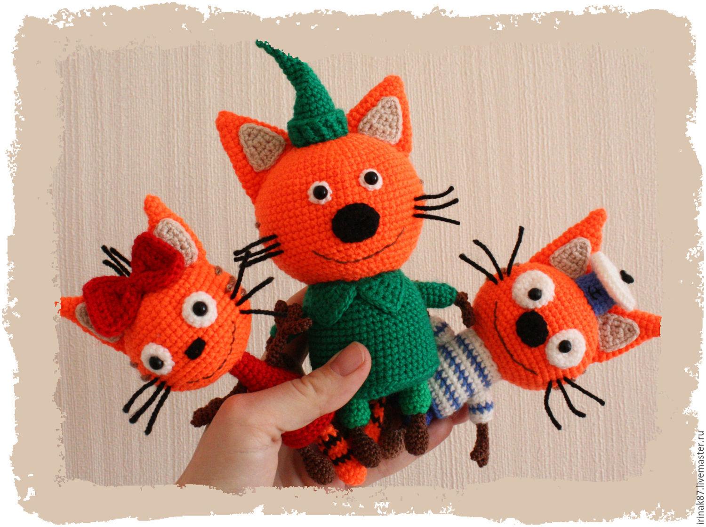 Три кота игрушки карамелька