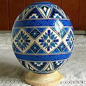 Подарки к праздникам ручной работы. Ярмарка Мастеров - ручная работа Писанки на страусиных яйцах. Handmade.