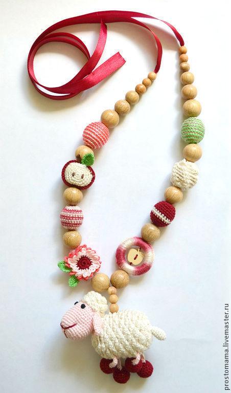 """Слингобусы ручной работы. Ярмарка Мастеров - ручная работа. Купить """"Овечка Маняша"""" слингобусы. Handmade. Слингобусы, подарок для новорожденных"""