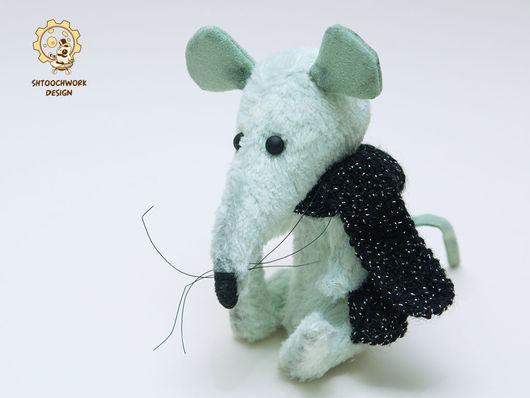 Мишки Тедди ручной работы. Ярмарка Мастеров - ручная работа. Купить Крыс Чак. Handmade. Крыса, подарок на любой случай