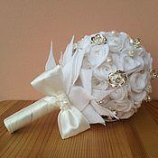 """Свадебный салон ручной работы. Ярмарка Мастеров - ручная работа Букет невесты """"Фетровое ретро"""". Handmade."""
