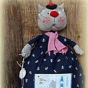 Куклы и игрушки ручной работы. Ярмарка Мастеров - ручная работа РОБЕРТО ( пакетница). Handmade.