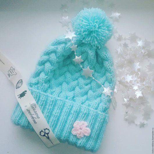 конфетная шапочка для стильной леди