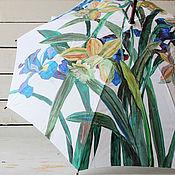 Аксессуары handmade. Livemaster - original item Umbrella with hand-painted