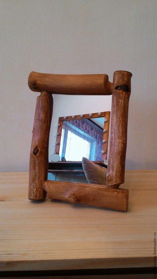 Зеркала ручной работы. Ярмарка Мастеров - ручная работа. Купить Зеркало рустик. Handmade. Зеркало, дерево