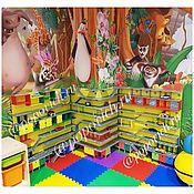 Куклы и игрушки handmade. Livemaster - original item Garage for cars. Parking. Rack. Handmade.