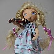 Куклы и игрушки ручной работы. Ярмарка Мастеров - ручная работа Скрипачка. Handmade.