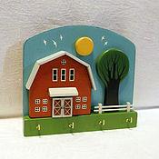 Для дома и интерьера ручной работы. Ярмарка Мастеров - ручная работа Ключница, домики, декор дома, кантри. Handmade.